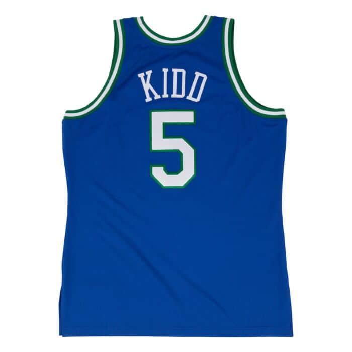 size 40 b11b2 fa29e Jason Kidd 1994-95 Authentic Jersey Dallas Mavericks