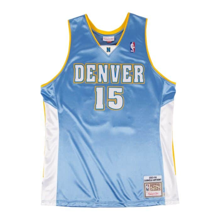 buy popular 28087 9b897 Carmelo Anthony 2003-04 Authentic Jersey Denver Nuggets