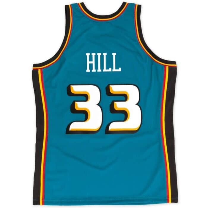 finest selection 74f74 0eca6 Grant Hill 1998-99 Authentic Jersey Detroit Pistons