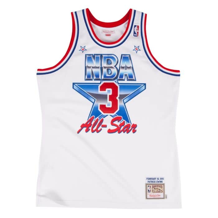 separation shoes 4ee06 f90c2 Patrick Ewing 1991 Authentic Jersey NBA All-Star