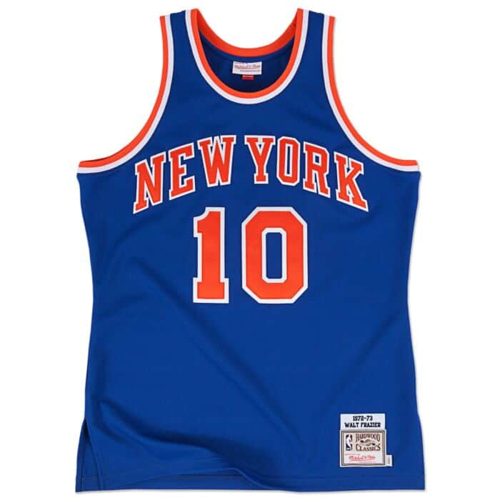separation shoes adad6 ba795 Walt Frazier 1972-73 Authentic Jersey New York Knicks