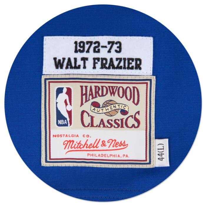 separation shoes 4939b 13ecd Walt Frazier 1972-73 Authentic Jersey New York Knicks