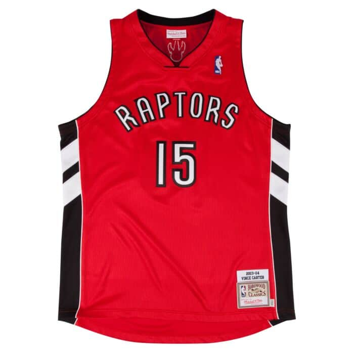 release date d9bf9 018f1 Vince Carter 2003-04 Authentic Jersey Toronto Raptors