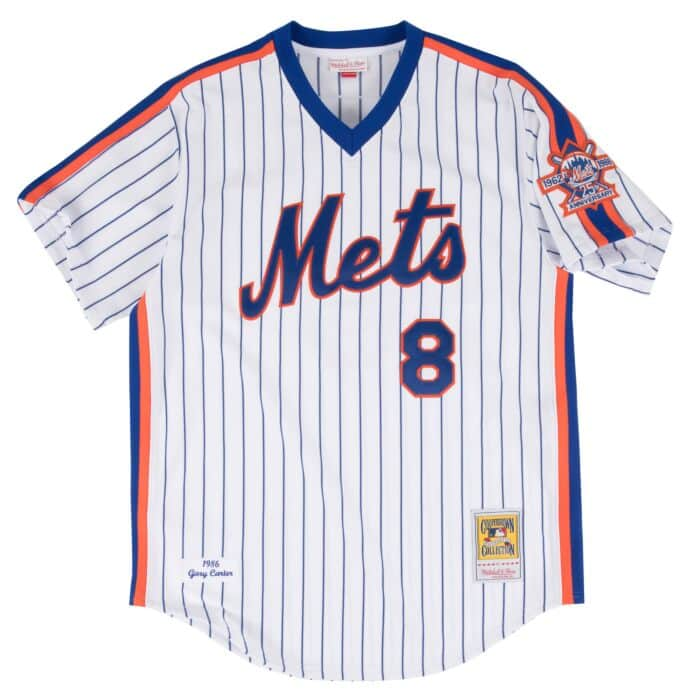 reputable site 4f5b5 98d1c Gary Carter 1986 Authentic Jersey New York Mets
