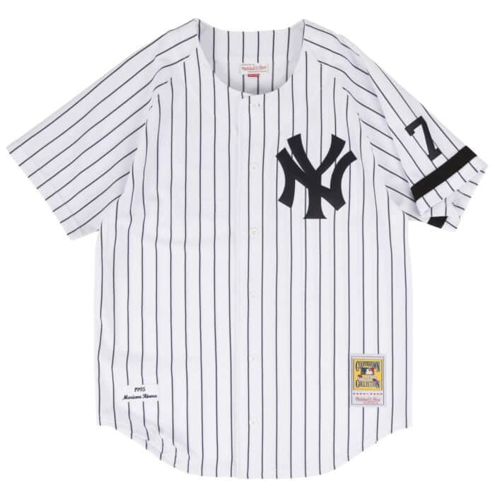 new style 8f404 fc02d Mariano Rivera 1995 Authentic Jersey New York Yankees