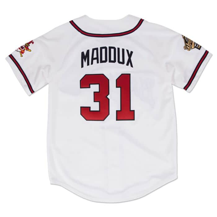 first rate 7f44a 0163e Greg Maddux 1995 Authentic Jersey Atlanta Braves
