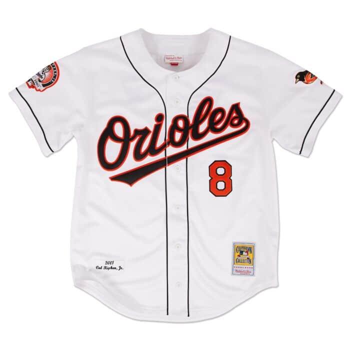 pretty nice c90dd 52d64 Cal Ripken 2001 Authentic Jersey Baltimore Orioles
