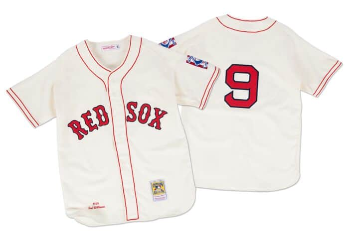free shipping 76a44 b1d4b Ted Williams 1939 Authentic Jersey Boston Red Sox