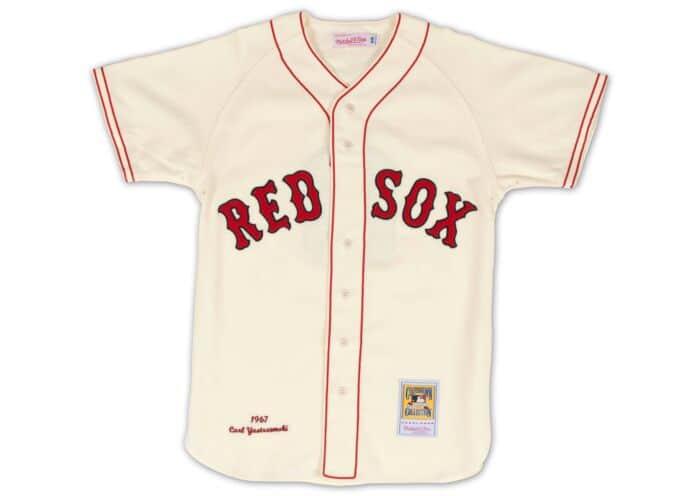 new products b6f41 2e44a Carl Yastrzemski 1967 Authentic Jersey Boston Red Sox