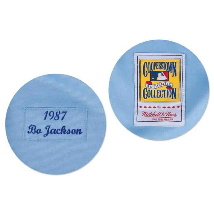 quality design fae5d 89c25 Bo Jackson 1987 Authentic Jersey Kansas City Royals Mitchell ...