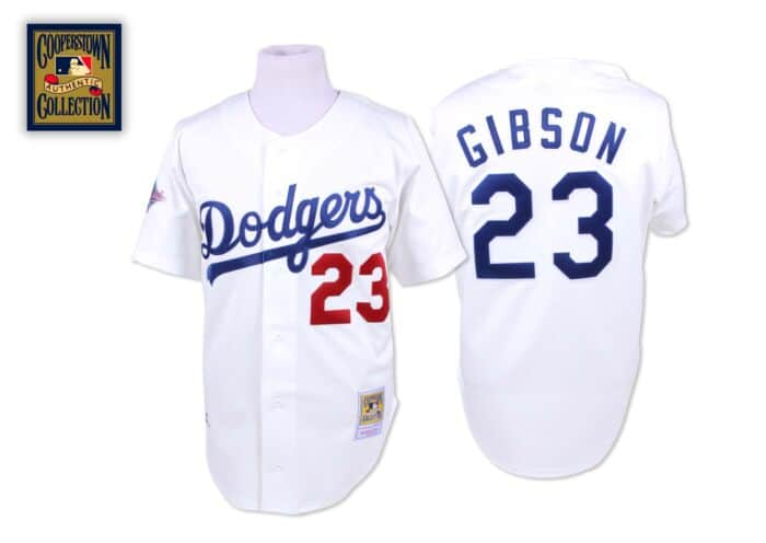 designer fashion 6910f 70a8b Kirk Gibson 1988 Authentic Jersey Los Angeles Dodgers ...