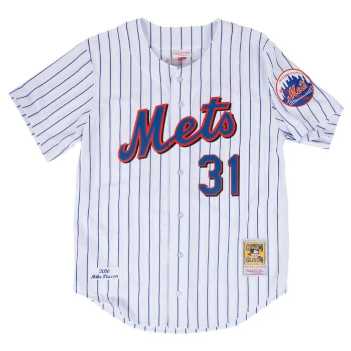 low priced fe1fd 397cb Mike Piazza 2000 Authentic Jersey New York Mets
