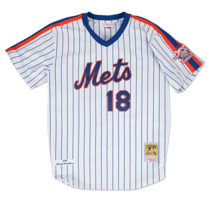 best sneakers a6711 1b497 Darryl Strawberry 1986 Authentic Jersey New York Mets