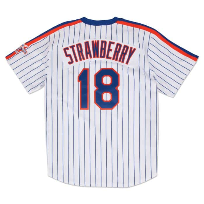 best sneakers 984ff fc538 Darryl Strawberry 1986 Authentic Jersey New York Mets