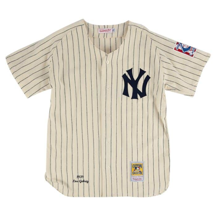 online retailer c375b e2f91 Lou Gehrig 1939 Authentic Jersey New York Yankees