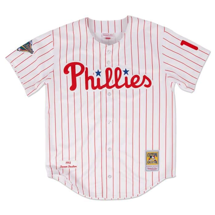 new concept 8d96d d7edf Darren Daulton 1993 Authentic Jersey Philadelphia Phillies