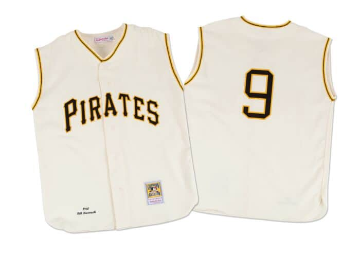reputable site e0626 89d68 Bill Mazeroski 1960 Authentic Jersey Pittsburgh Pirates