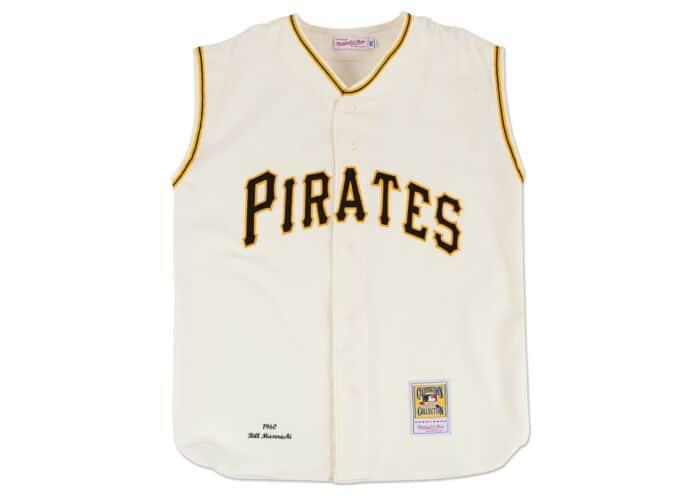 reputable site 87e3a d02e4 Bill Mazeroski 1960 Authentic Jersey Pittsburgh Pirates