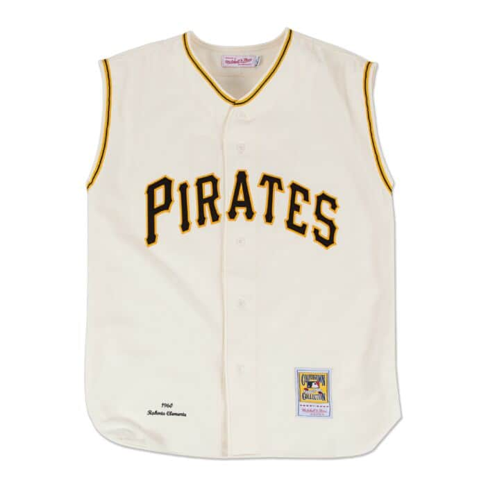 official photos 276ba f6d70 Roberto Clemente 1960 Authentic Jersey Pittsburgh Pirates ...