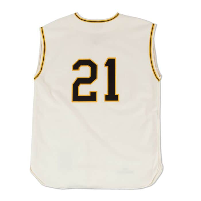 official photos c8180 672d9 Roberto Clemente 1960 Authentic Jersey Pittsburgh Pirates ...