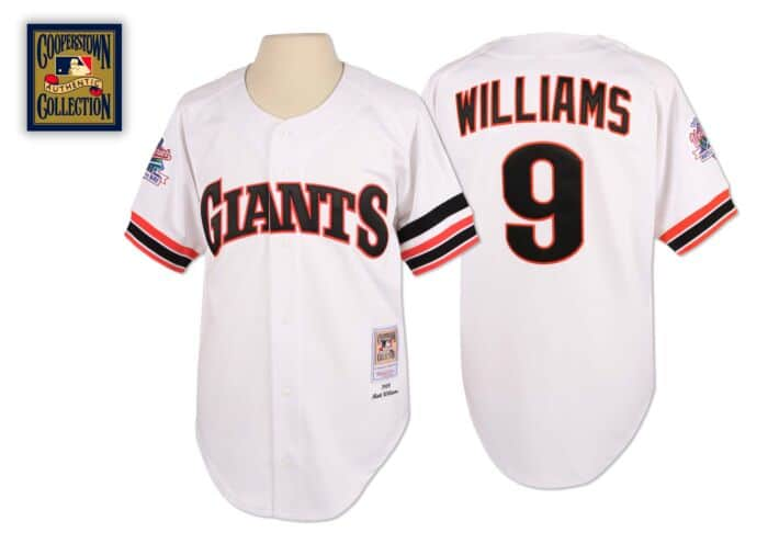 pretty nice f8cb7 39036 Matt Williams 1989 Authentic Jersey San Francisco Giants