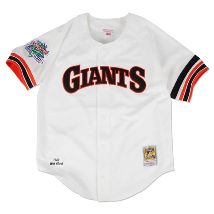 best sneakers 3ed90 10b26 Will Clark 1989 Authentic Jersey San Francisco Giants