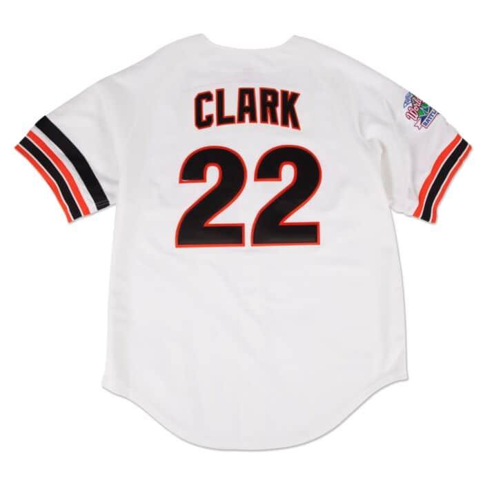 best sneakers 3d43c bd79d Will Clark 1989 Authentic Jersey San Francisco Giants