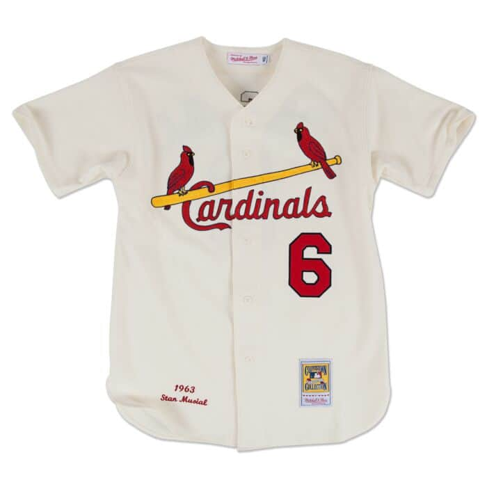 low priced abe42 ecba0 Stan Musial 1963 Authentic Jersey St. Louis Cardinals