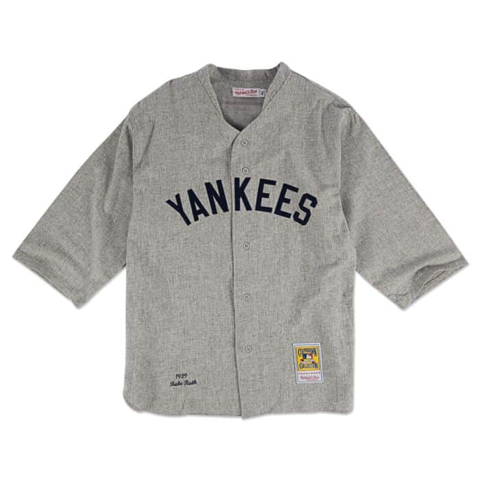 low priced f1695 461b4 Babe Ruth 1929 Authentic Jersey New York Yankees Mitchell ...