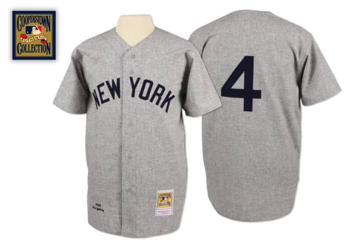 buy popular 116cd 15bba Lou Gehrig 1932 Authentic Jersey New York Yankees Mitchell ...