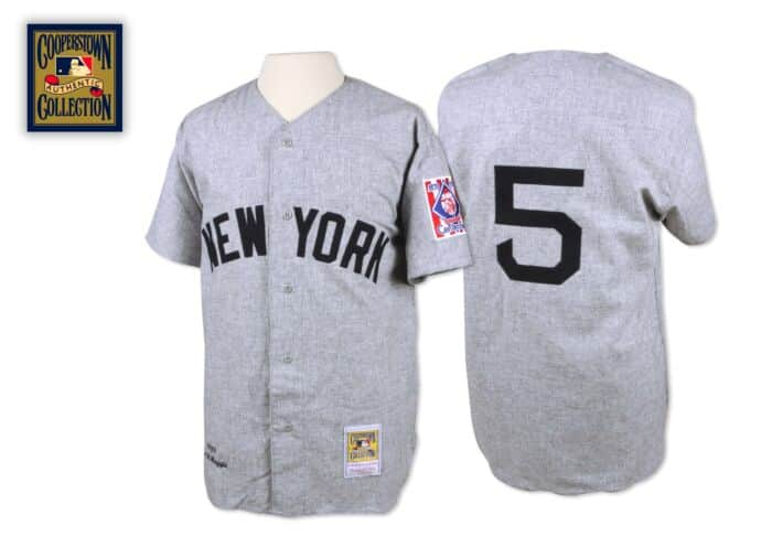 promo code 3f017 bb3dc Joe DiMaggio 1939 Authentic Jersey New York Yankees Mitchell ...