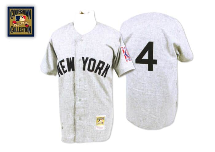 buy popular bac55 7f3cb Lou Gehrig 1939 Authentic Jersey New York Yankees Mitchell ...