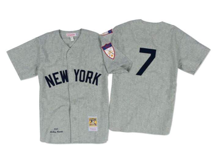 competitive price 89f0e b70df Mickey Mantle 1951 Authentic Jersey New York Yankees