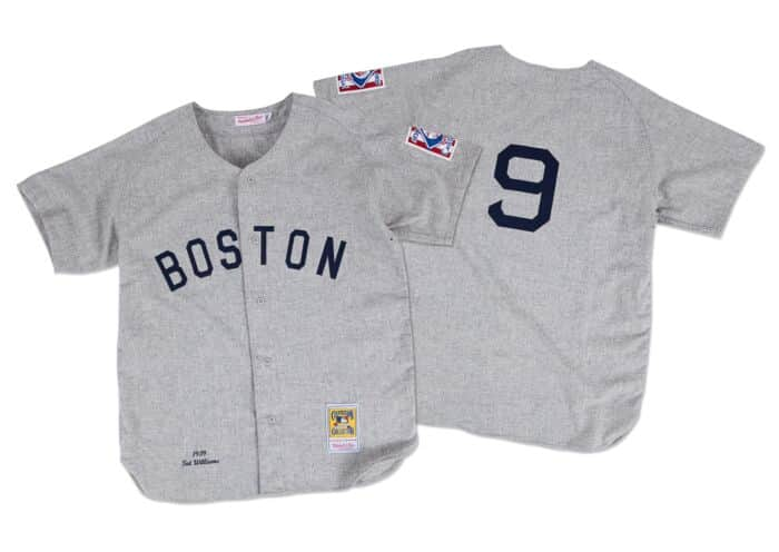 free shipping e0708 dd692 Ted Williams 1939 Authentic Jersey Boston Red Sox