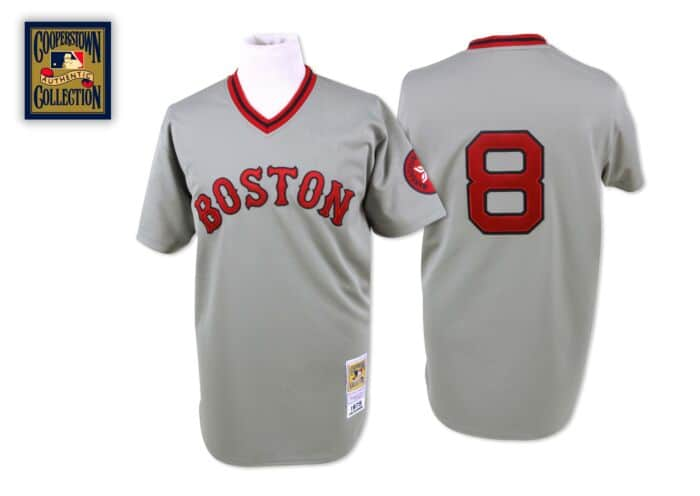 more photos 61797 17b6b Carl Yastrzemski 1975 Authentic Jersey Boston Red Sox ...