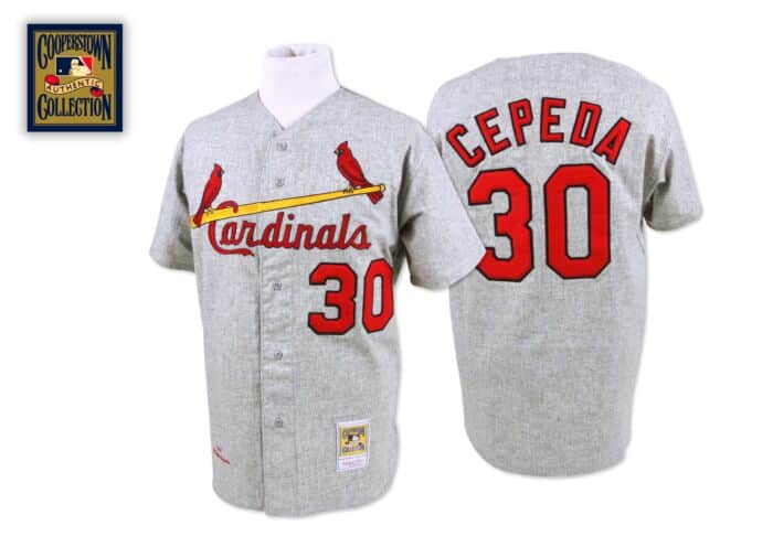 the latest f8aa2 8d266 Orlando Cepeda 1967 Authentic Jersey St. Louis Cardinals