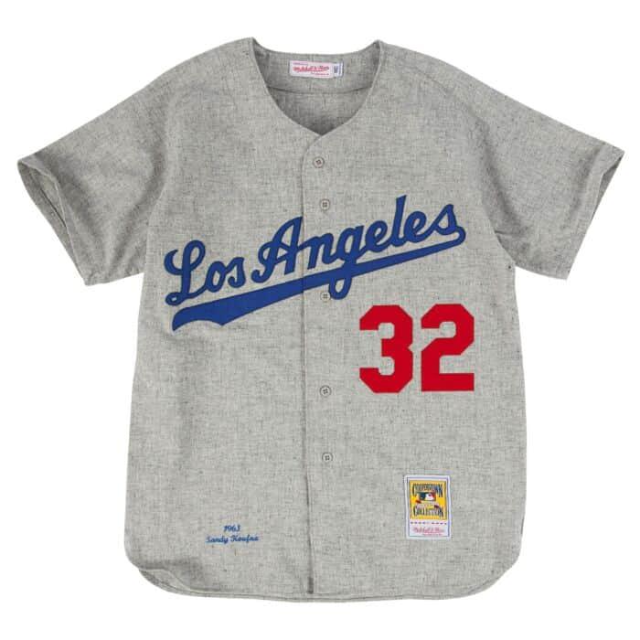 Sandy Koufax 1963 Authentic Jersey Los Angeles Dodgers