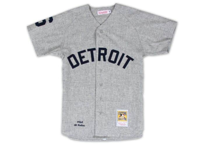 cheap for discount 53e3e 3a9bf Al Kaline 1968 Authentic Jersey Detroit Tigers