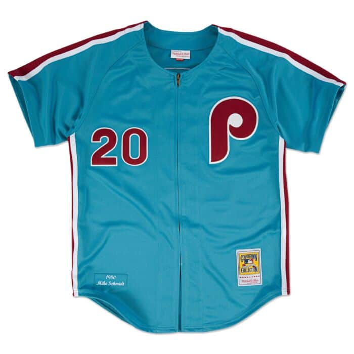 free shipping 13963 a3739 Mike Schmidt 1980 Authentic Jersey Philadelphia Phillies ...