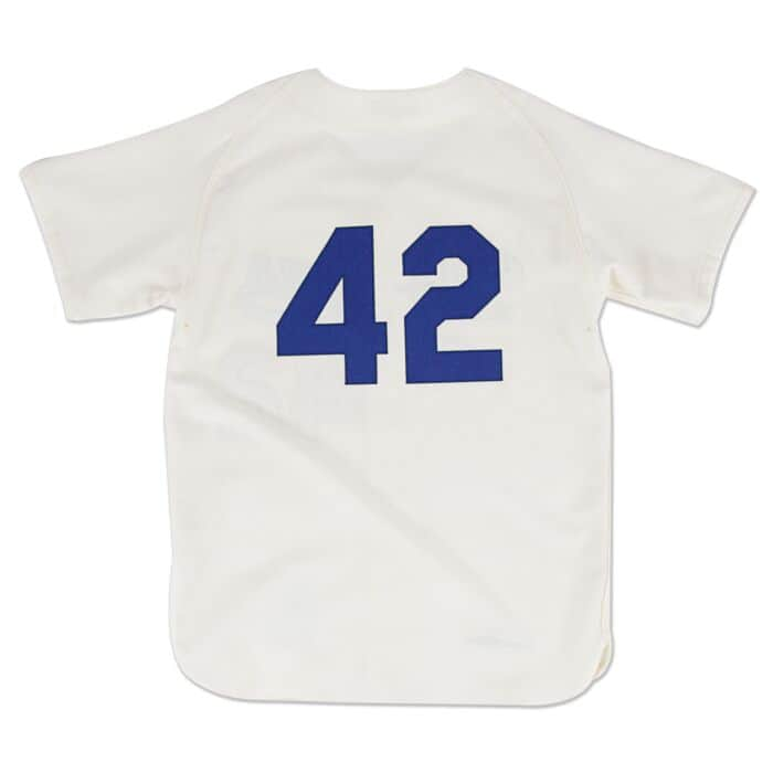 Jackie Robinson 1955 Authentic Jersey Brooklyn Dodgers