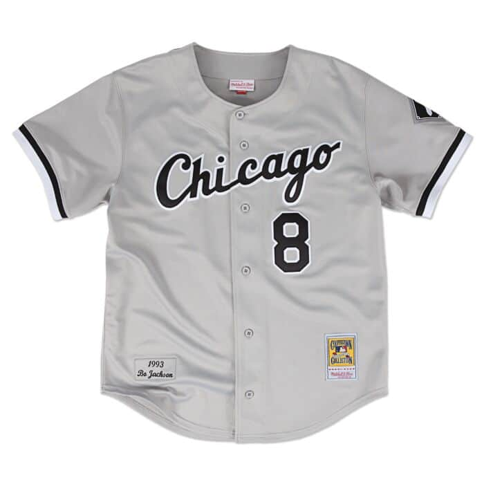 buy online beca3 f2caa Bo Jackson 1993 Authentic Jersey Chicago White Sox Mitchell ...