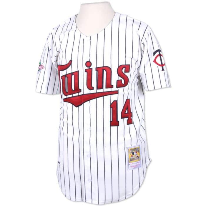 purchase cheap 10f72 fa5ab Kent Hrbek 1991 Authentic Jersey Minnesota Twins