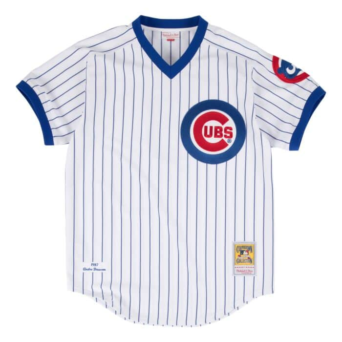 brand new 4f032 a3a4b Andre Dawson 1987 Authentic Jersey Chicago Cubs