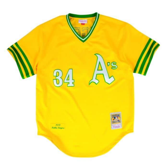 more photos c049f d4bfb Rollie Fingers 1972 Authentic Jersey Oakland Athletics ...