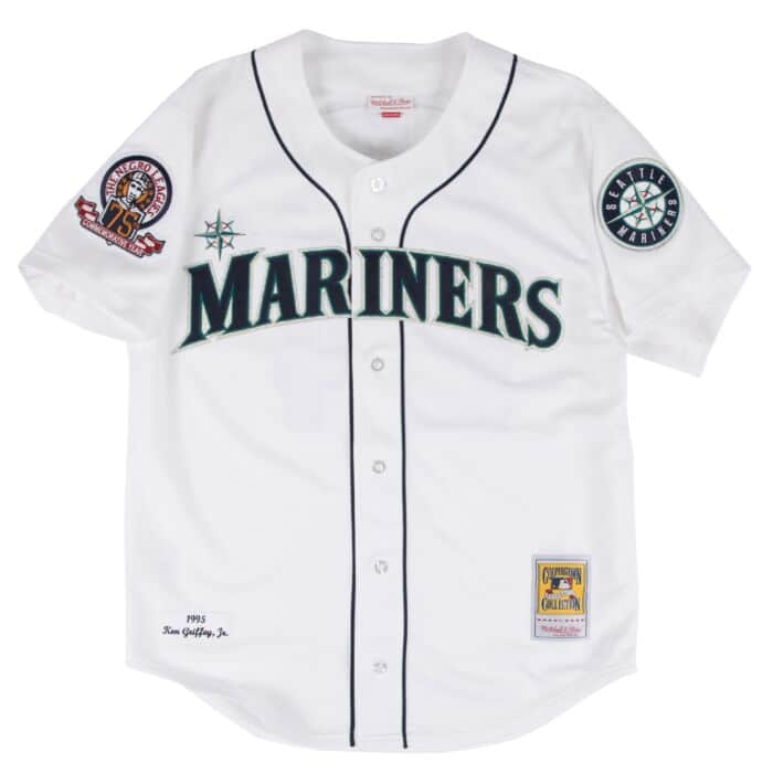 competitive price 426dc 0459f Ken Griffey Jr. 1995 Authentic Jersey Seattle Mariners ...