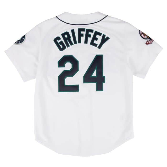 competitive price abc34 9c5f7 Ken Griffey Jr. 1995 Authentic Jersey Seattle Mariners ...