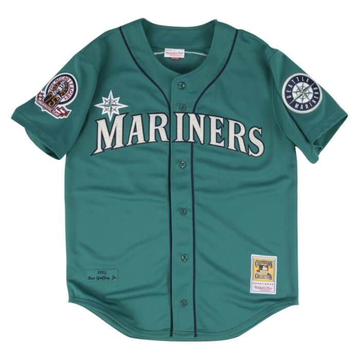 competitive price d81a0 eb646 Ken Griffey Jr. 1995 Authentic Jersey Seattle Mariners ...