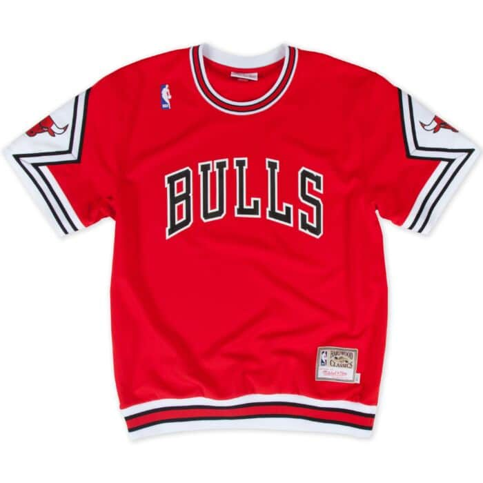 the latest 98dd8 c1c09 1987-88 Authentic Shooting Shirt Chicago Bulls