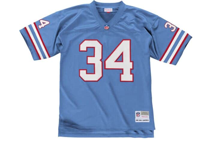 big sale b9bc6 4cedd Earl Campbell 1980 Legacy Jersey Houston Oilers Mitchell ...