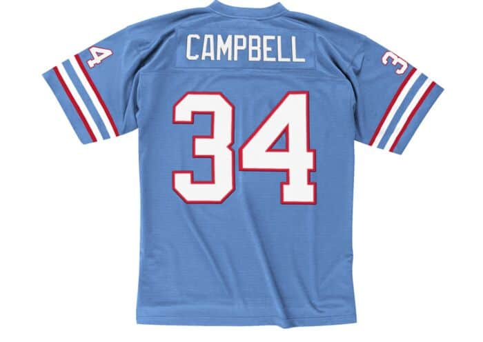 big sale 5e40f bf71a Earl Campbell 1980 Legacy Jersey Houston Oilers Mitchell ...